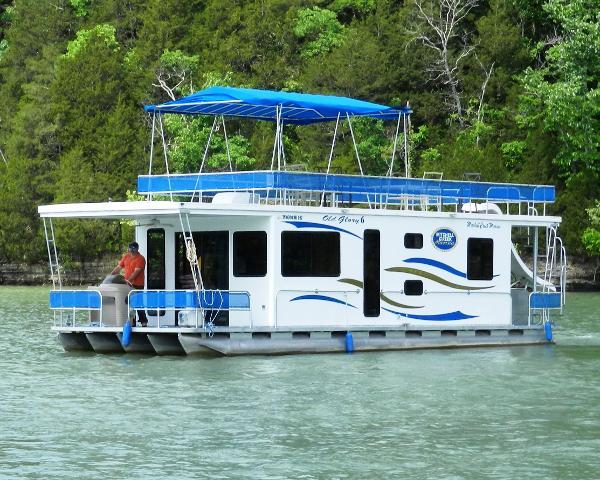 2007 Houseboat Custom Pontoon Houseboat
