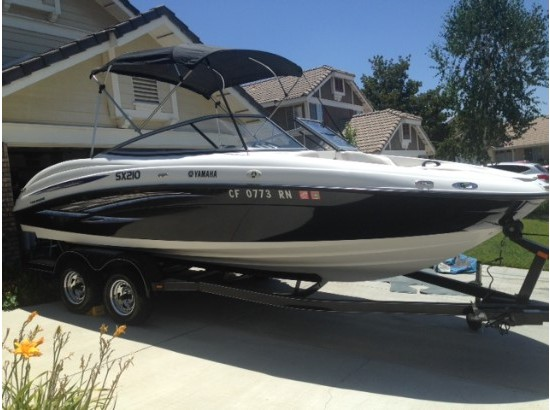 Yamaha sx 210 boats for sale in california for Yamaha sx210 boat cover