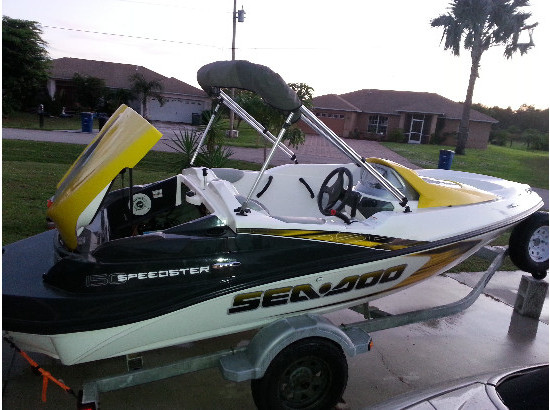 2007 Sea Doo Speedster 150 w 215hp supercharged