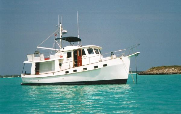 1997 Kadey Krogen Raised Pilothouse Trawler