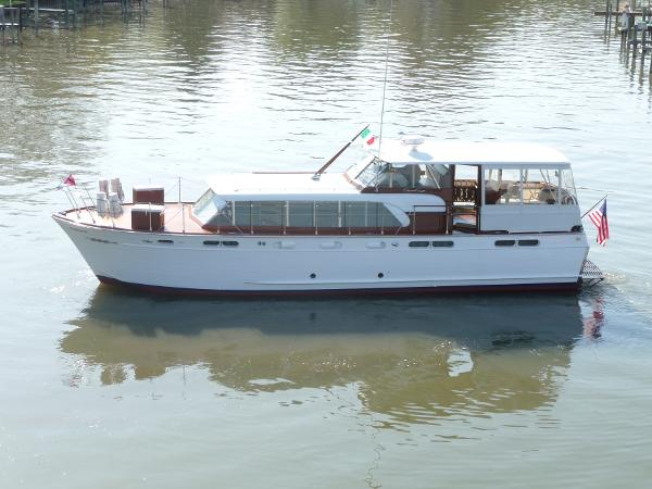 1960 Chris Craft 50 Constellation