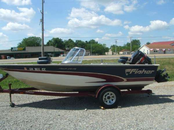 1998 Fisher HAWK 170FS