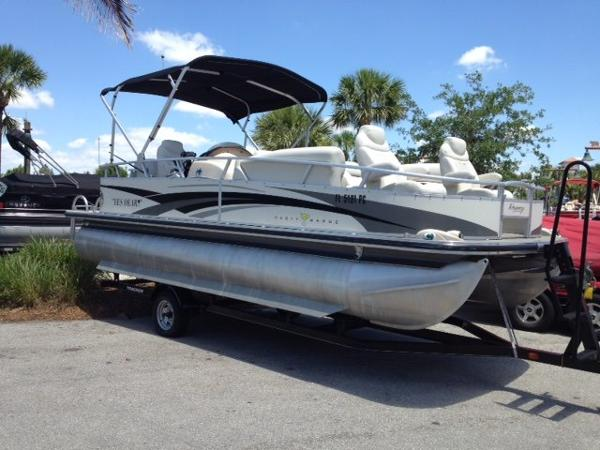 Sun Tracker Party Barge 22 Regency Edition Boats For Sale