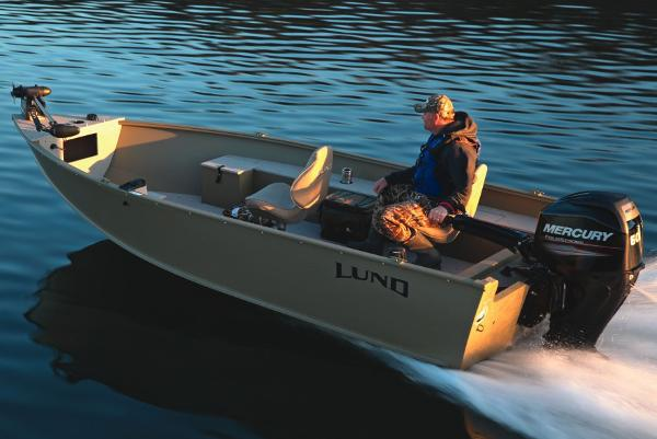 2016 Lund 1600 Alaskan Tiller
