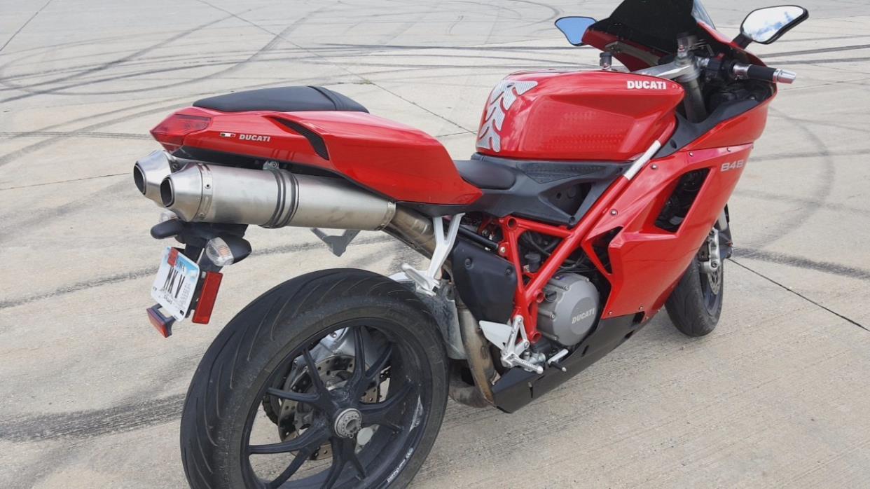 ducati 848evo motorcycles for sale in iowa. Black Bedroom Furniture Sets. Home Design Ideas
