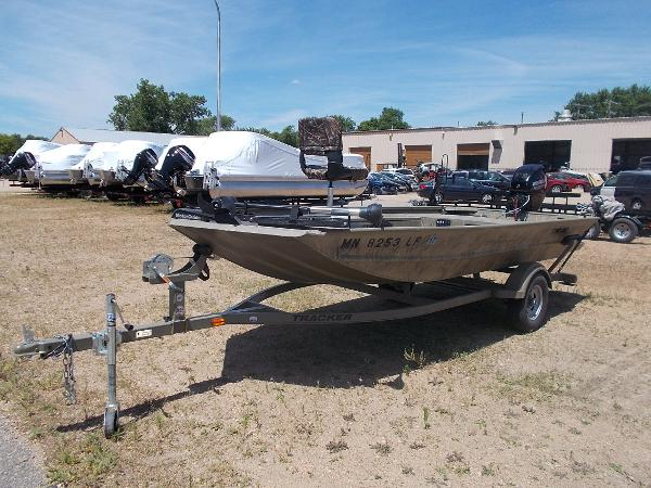 2015 Tracker Grizzly 1654 Sportsman