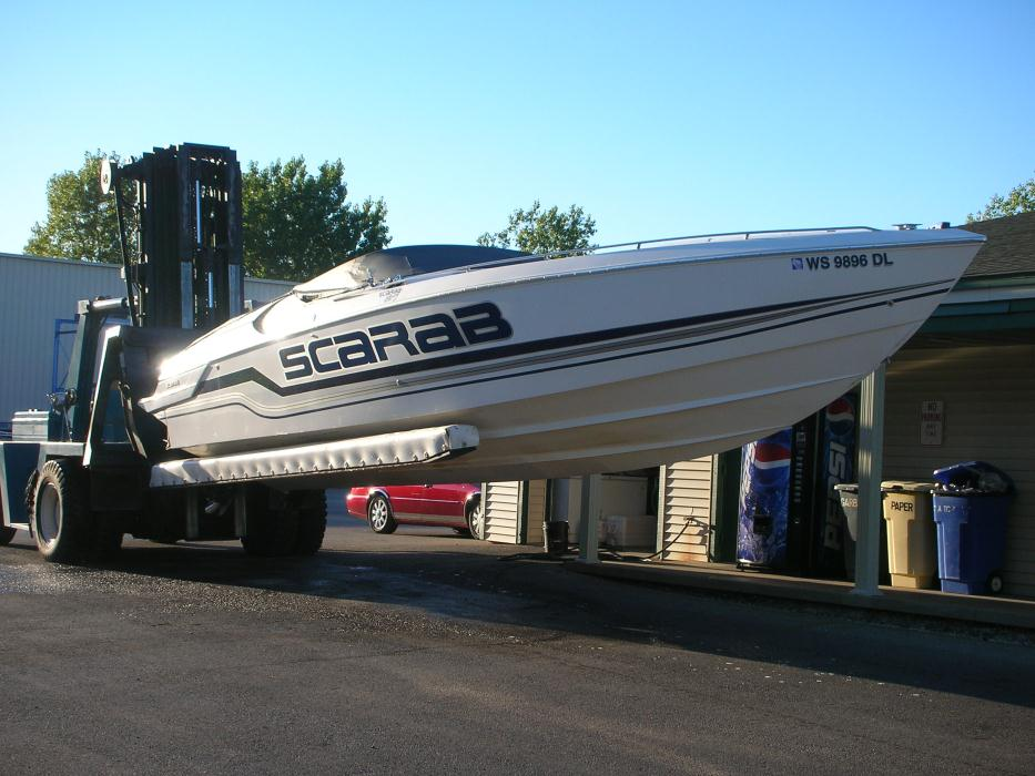 1991 Wellcraft 34 Scarab Excel