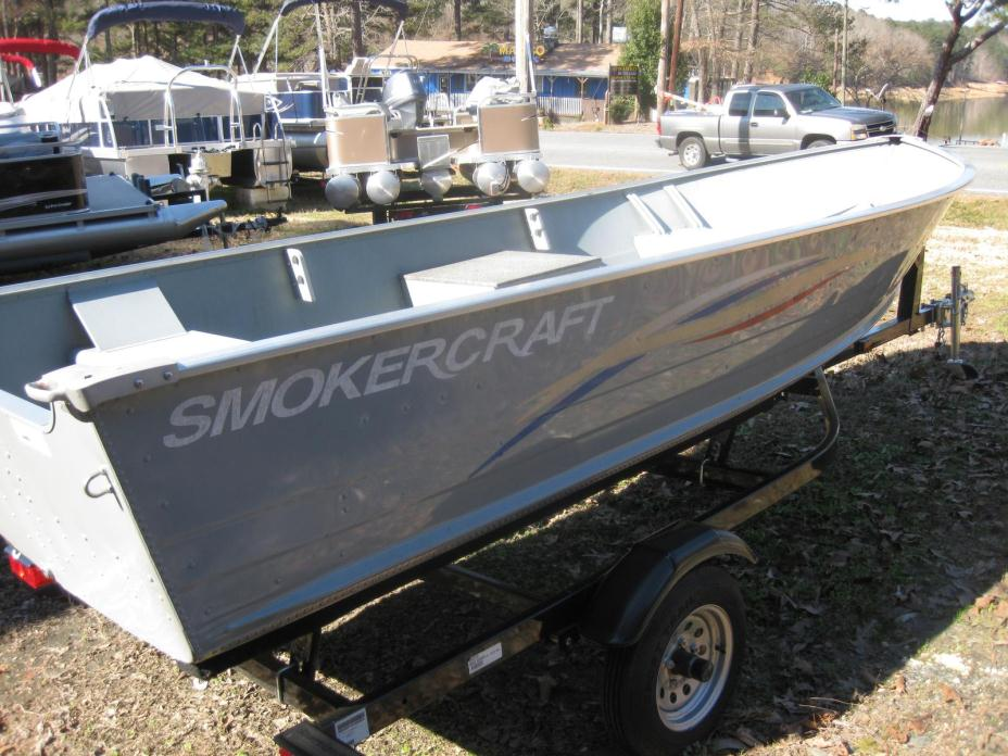 Utility boats for sale in canton georgia for Smoker craft alaskan 15