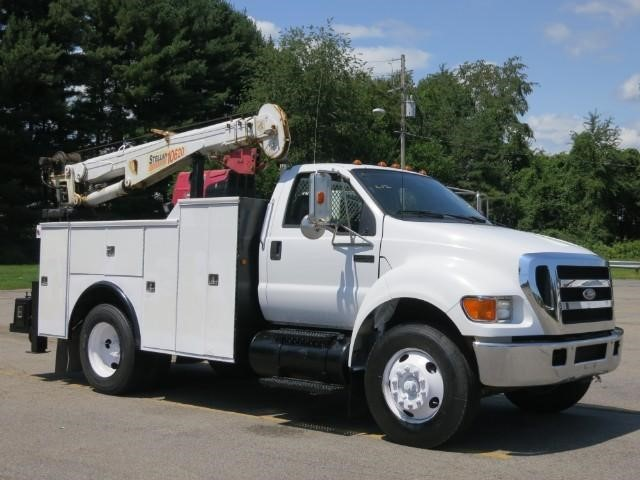 Ford F750 For Sale >> Crane Truck for sale in New York