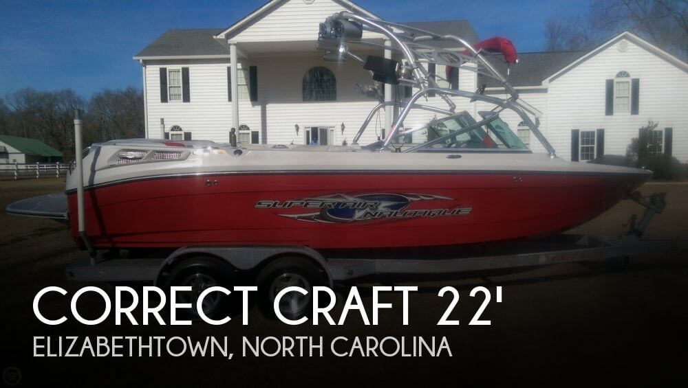 2007 Correct Craft Super Air Nautique 220