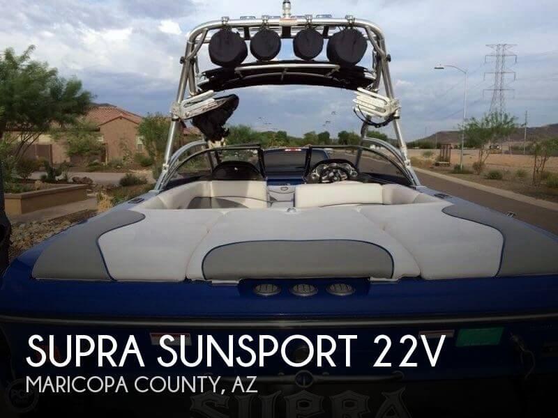 2008 Supra Sunsport 22V