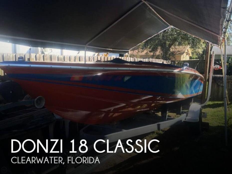 1980 Donzi 18 Classic