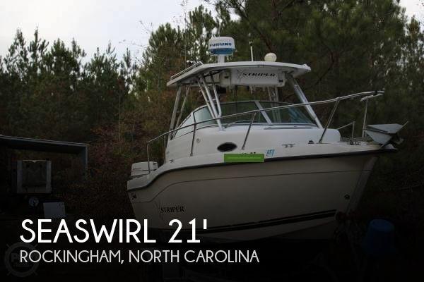 2000 Seaswirl 2100 Walkaround