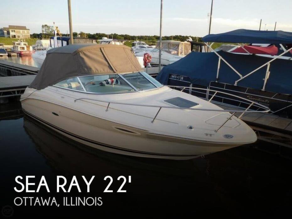 2004 Sea Ray 225 Weekender