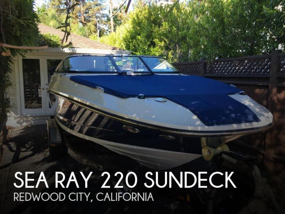 2014 Sea Ray 220 Sundeck
