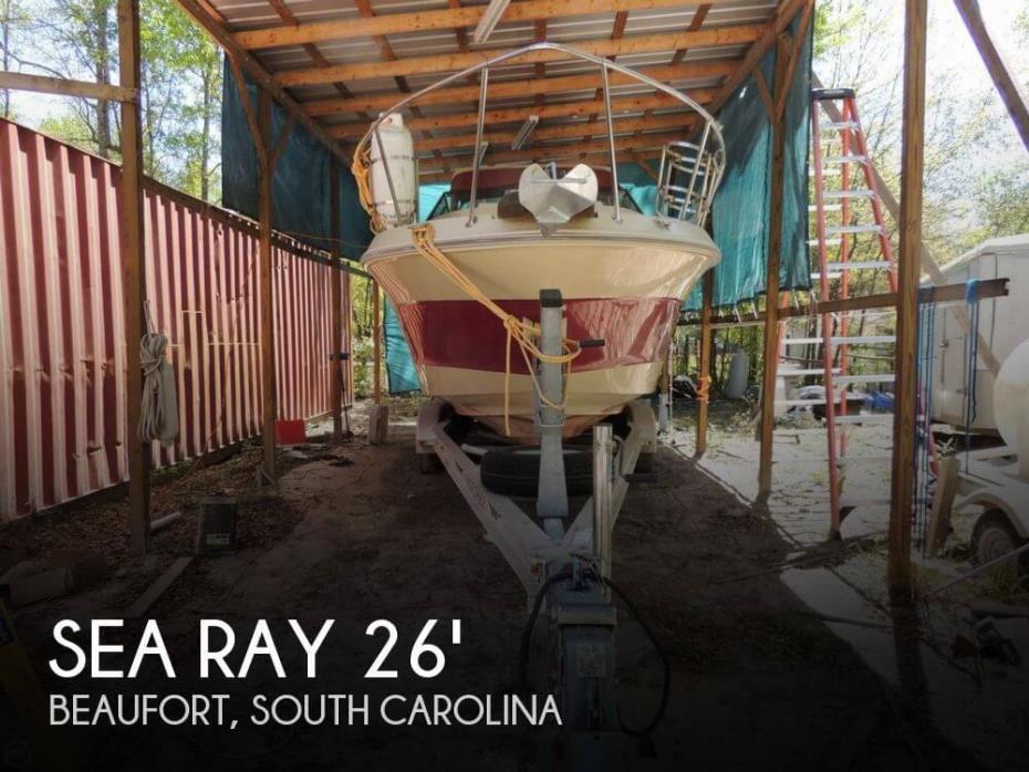 1986 Sea Ray 268 Sundancer Aft Cabin