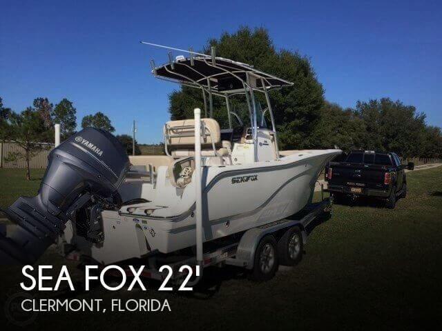 2015 Sea Fox 226 Commander