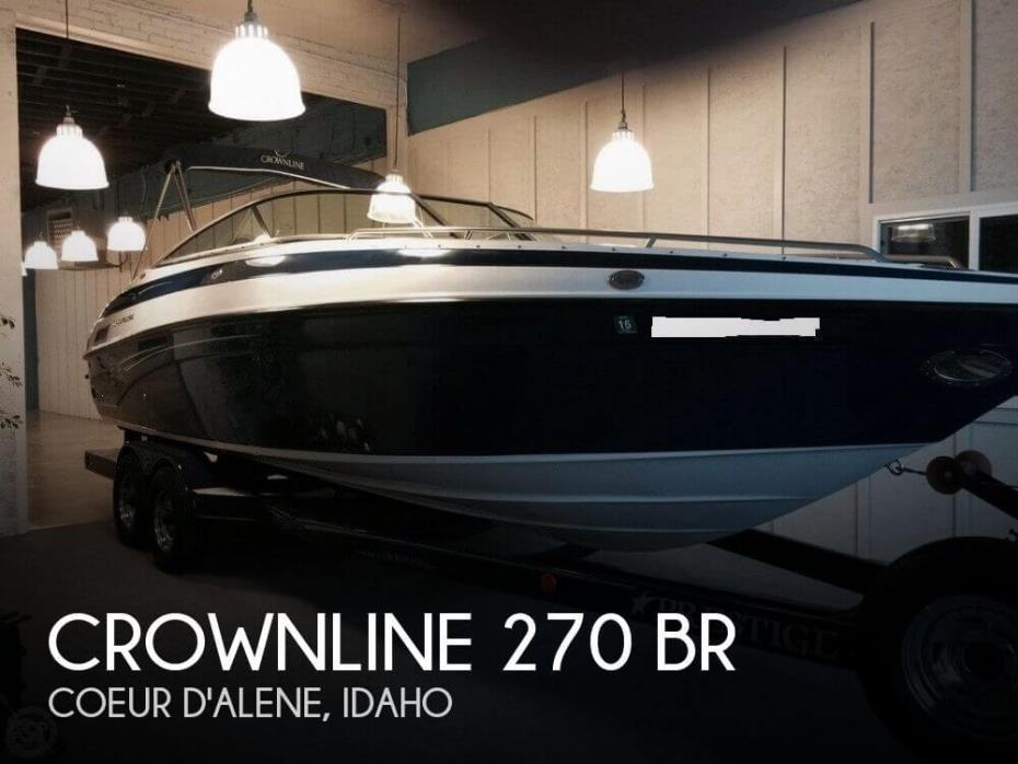 2003 Crownline 270 BR