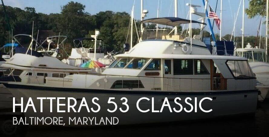 1979 Hatteras 53 Classic