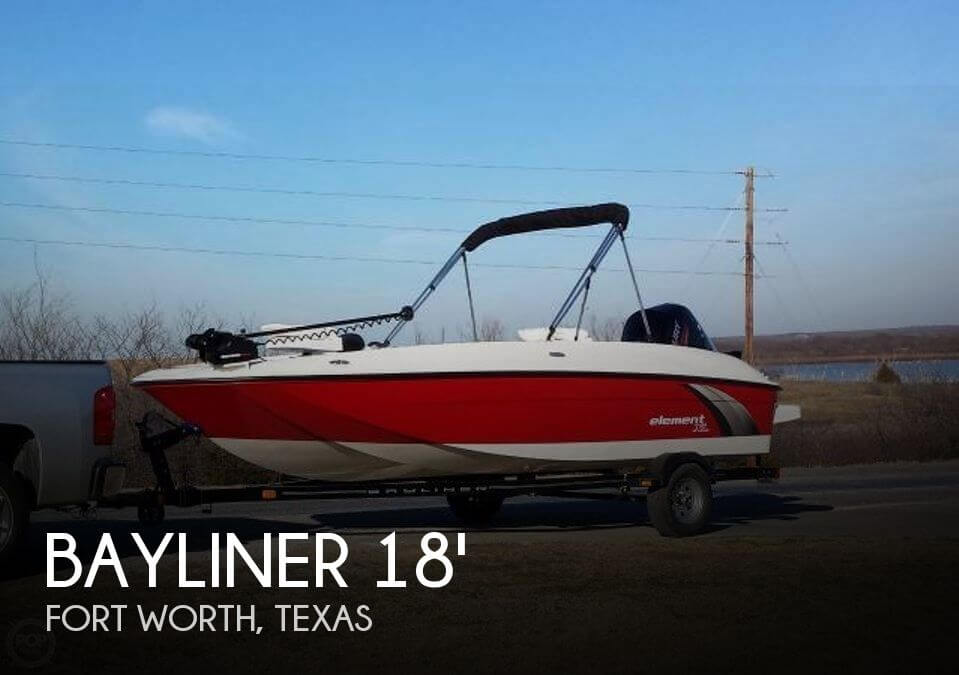 2015 Bayliner 18 ELEMENT XL FISH AND SKI