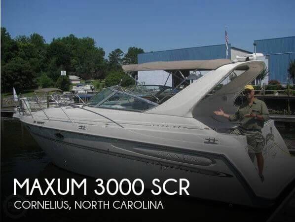 2000 Maxum 3000 SCR