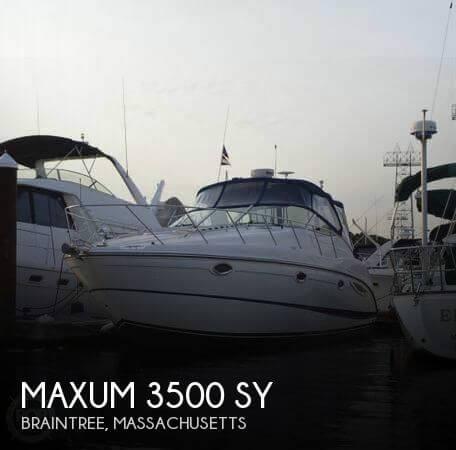 2005 Maxum 3500 SY