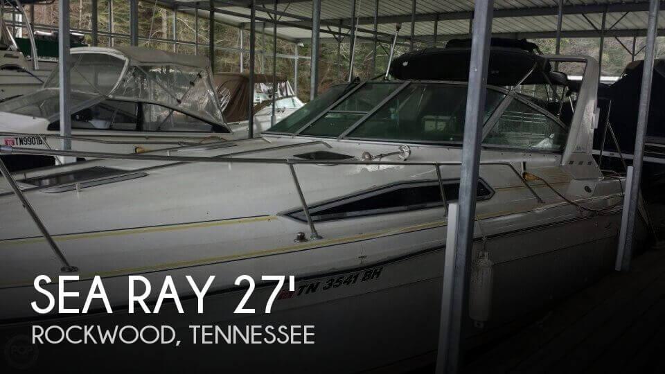 1990 Sea Ray 270 Sundancer