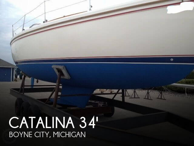 1987 Catalina C 34 Tall Rig