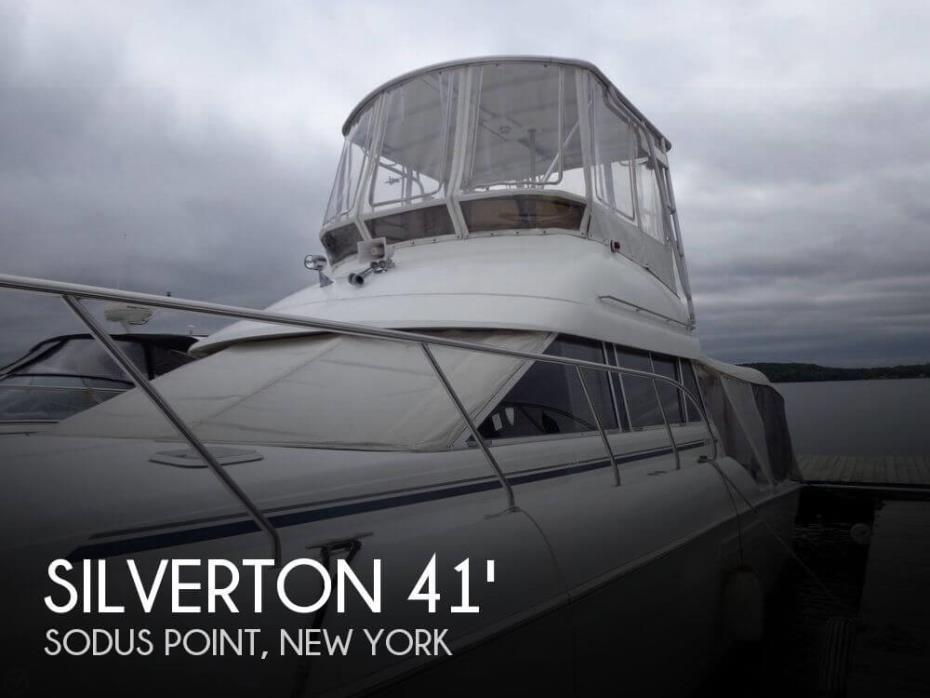 1996 Silverton 41 Convertible