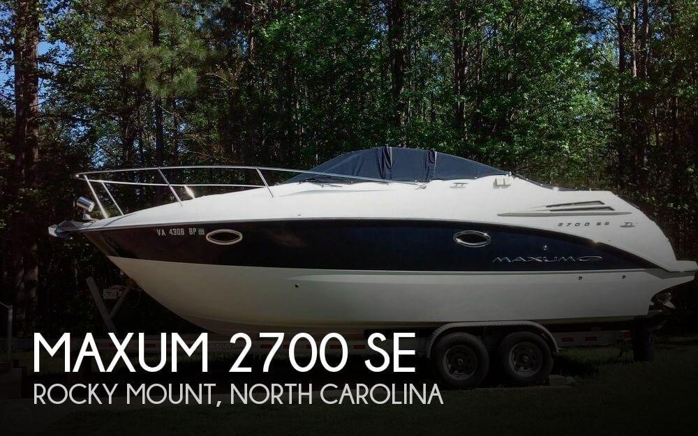 2009 Maxum 2700 SE