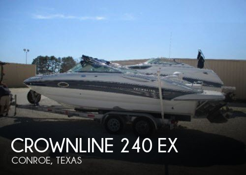 2004 Crownline 240 EX