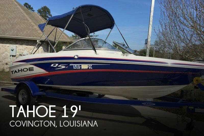 1990 tahoe q5i boats for sale for Tahoe sport fishing