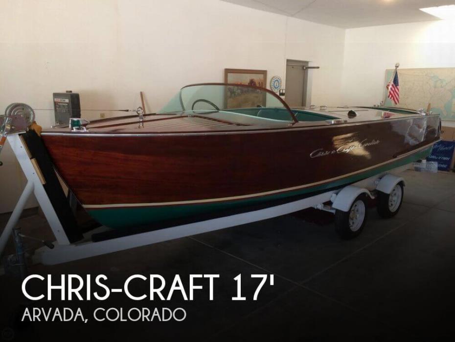 1958 Chris-Craft 17 Cavalier