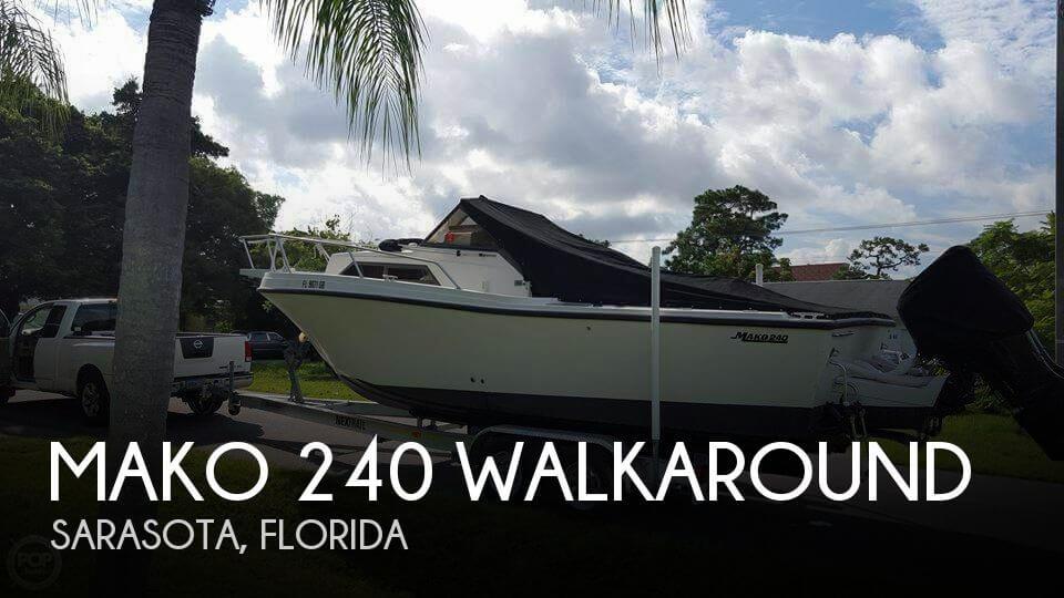 1989 Mako 240 Walkaround