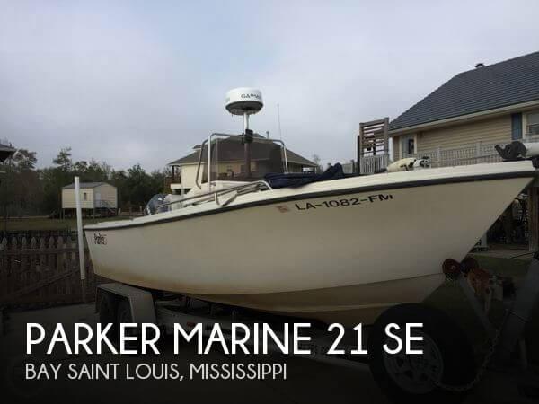 2002 Parker Marine 21 SE
