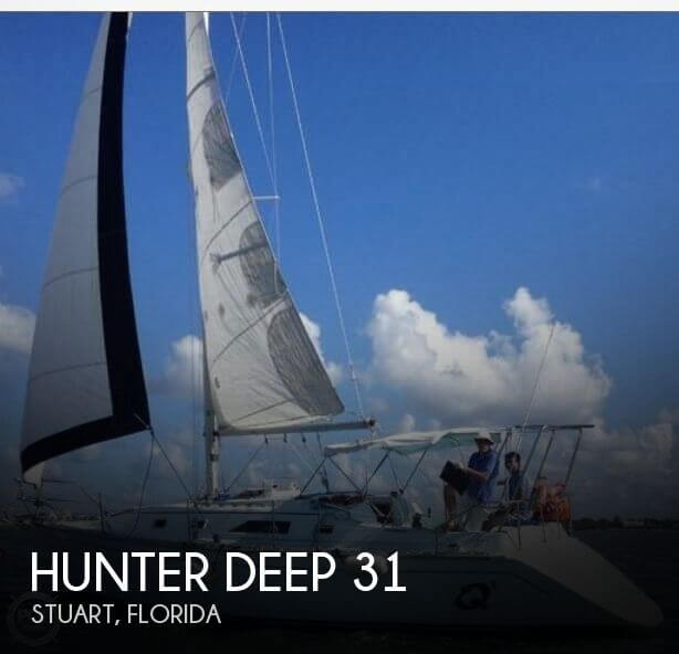 1984 Hunter DEEP 31