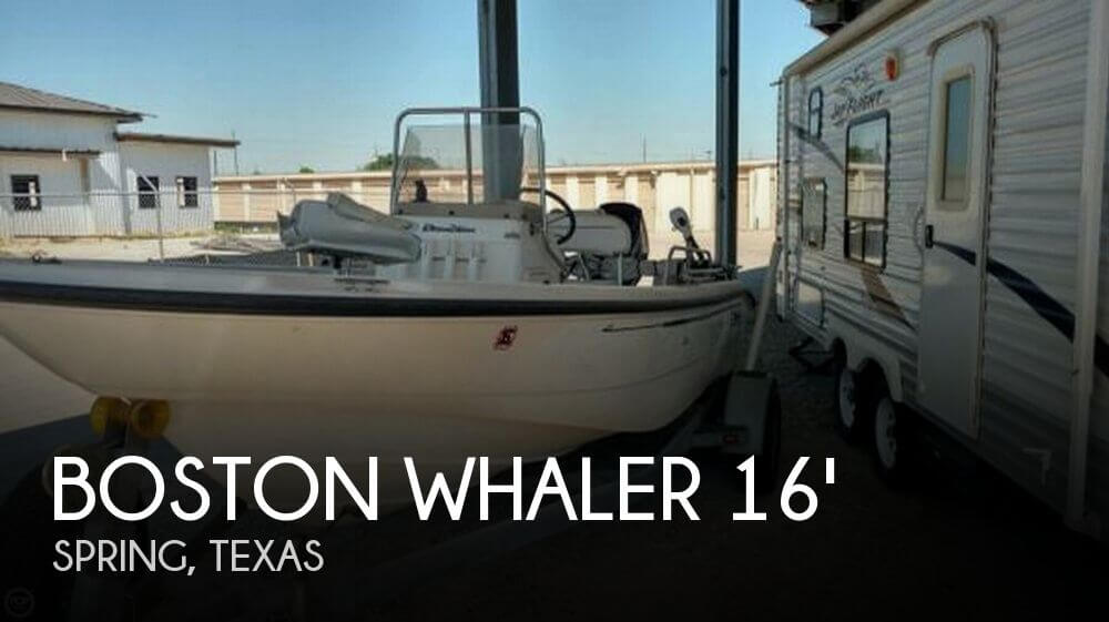 2001 Boston Whaler 160 Dauntless