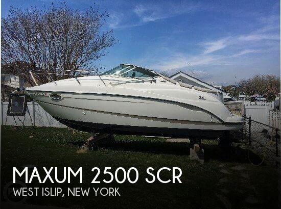 2003 Maxum 2500 SCR