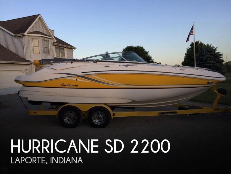 2013 Hurricane SD 2200