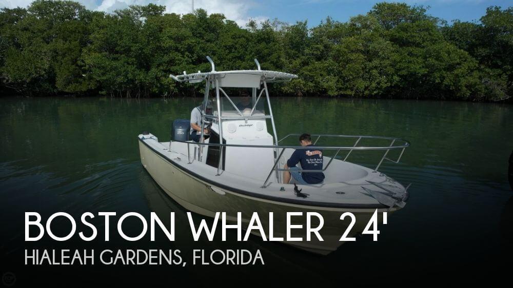 1995 Boston Whaler 24 Outrage