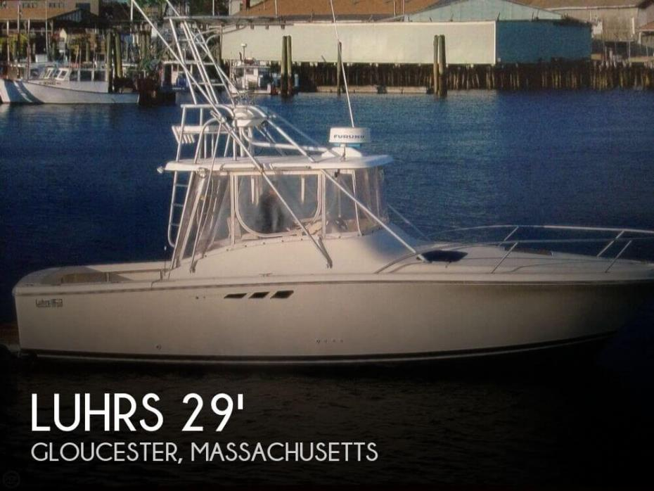 1993 Luhrs 290 Open Tournament