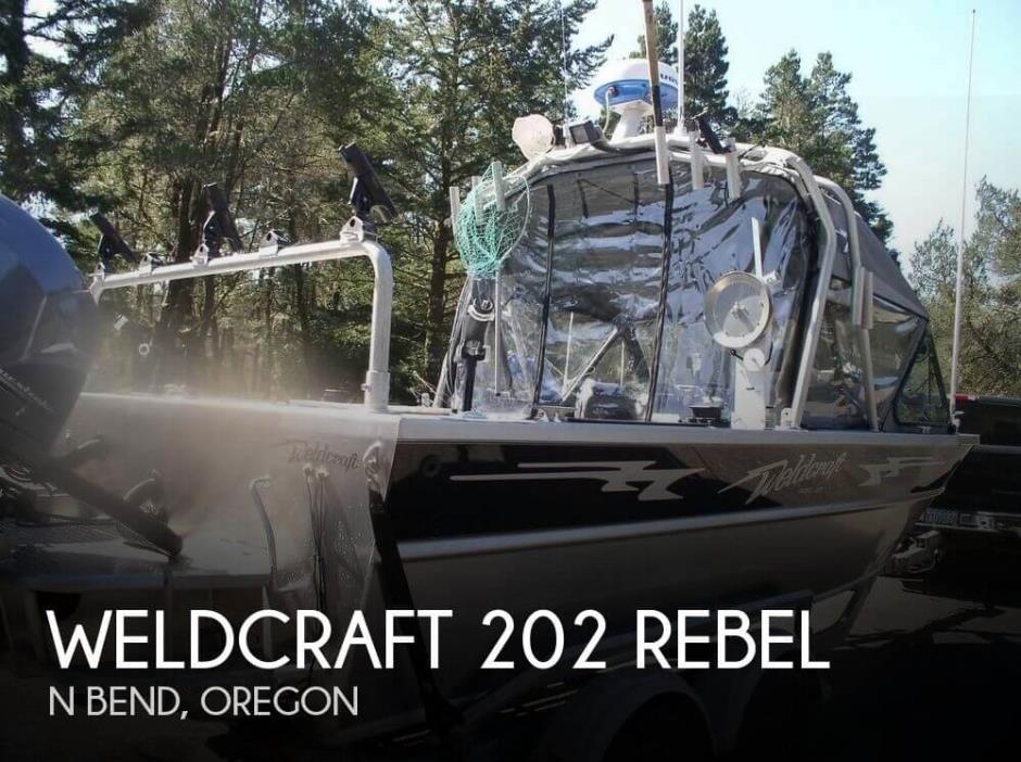 2012 Weldcraft 202 Rebel