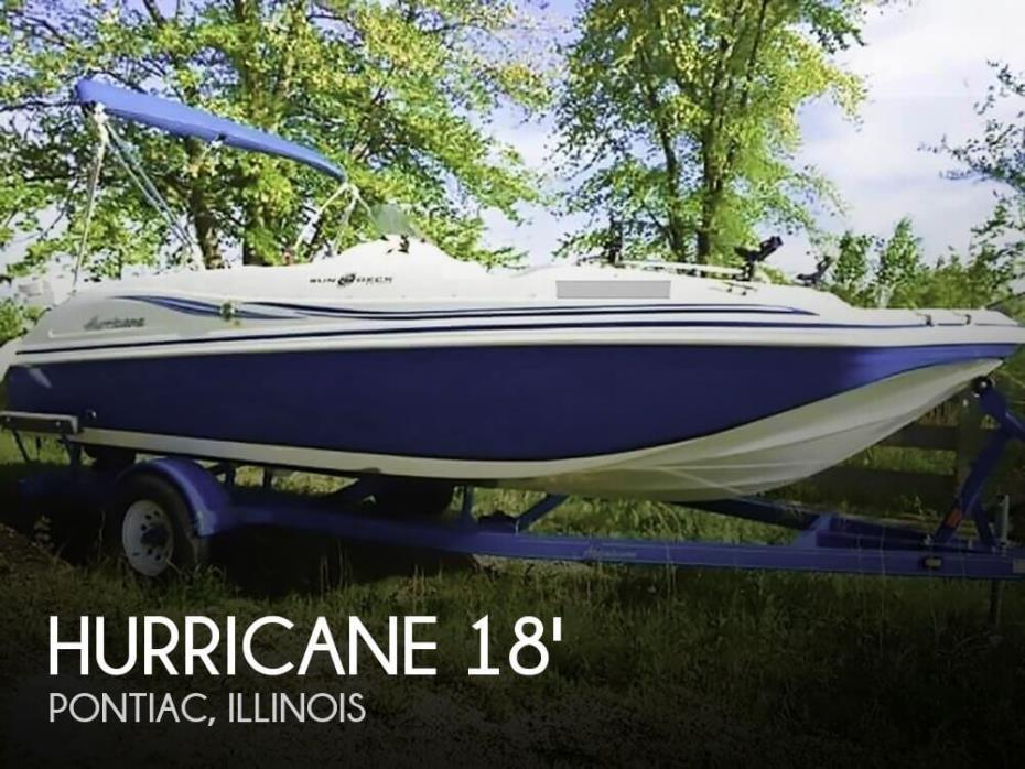 2012 Hurricane SUNDECK SS 188