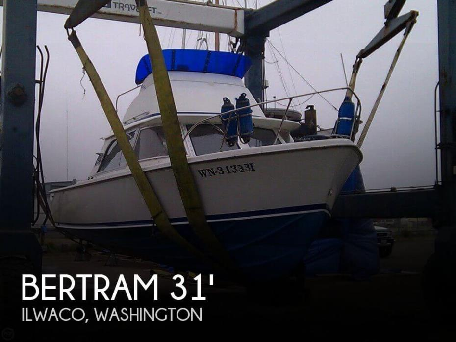 1962 Bertram 31 Sport Fisher