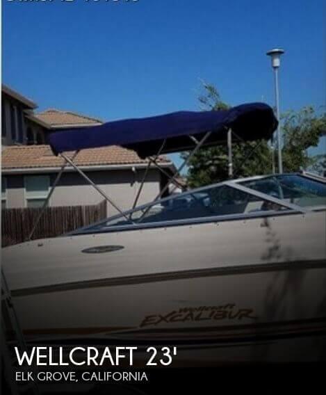 2001 Wellcraft 23 Excalibur