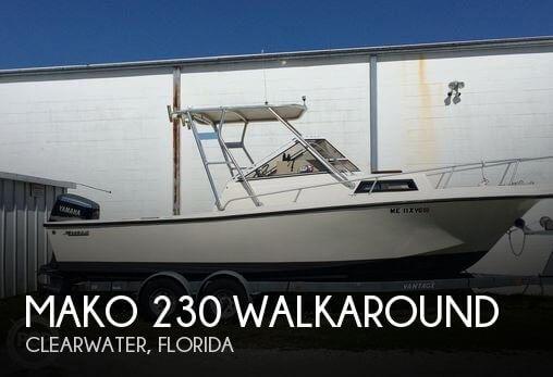 1988 Mako 230 Walkaround