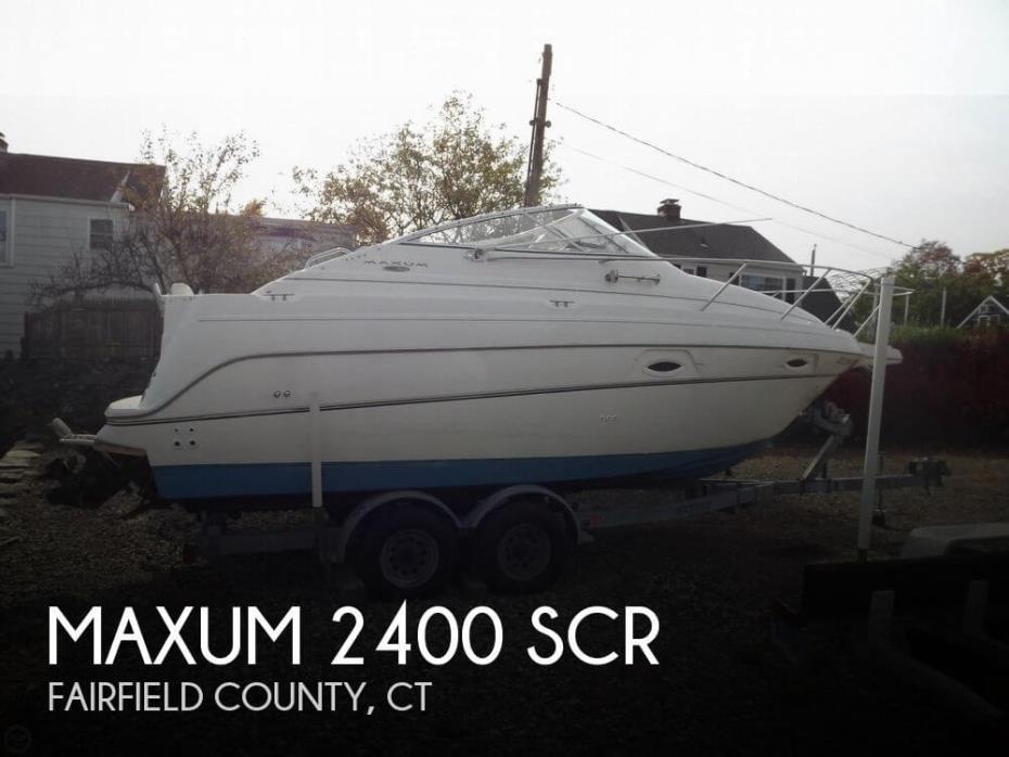 2003 Maxum 2400 SCR