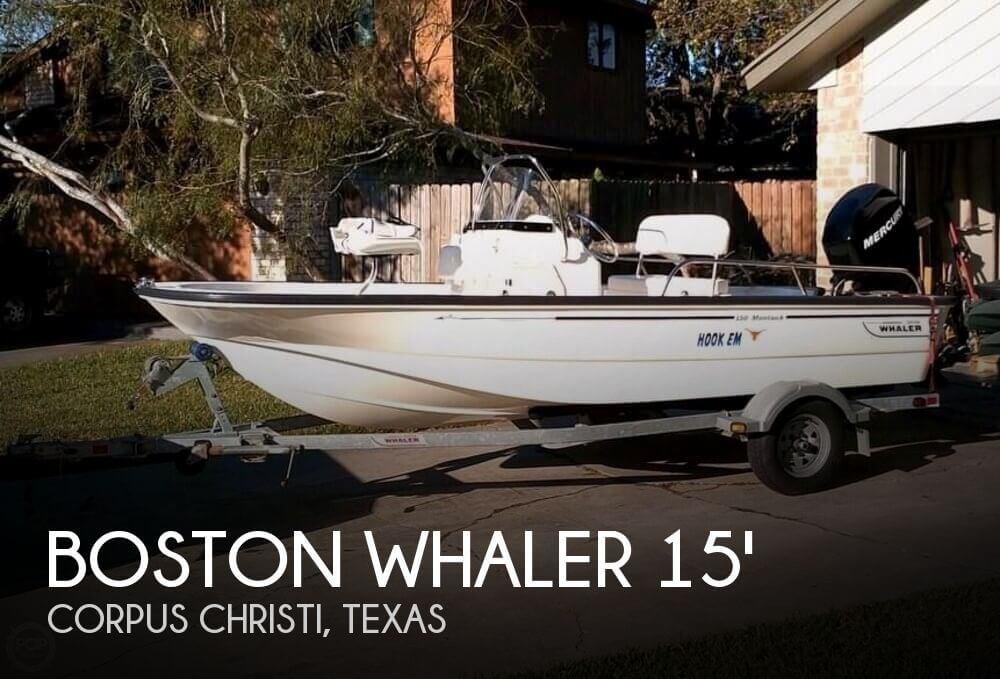 2010 Boston Whaler Montauk 150