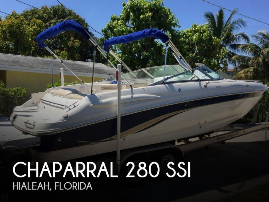 2004 Chaparral 280 SSI