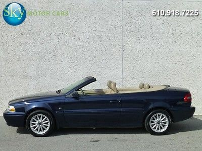 Volvo : C70 Base Convertible 2-Door 46 075 msrp 5 speed manual cold a c power top wholesale
